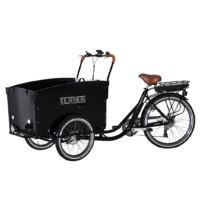 Wildenburg Classic El-ladcykel (sort)
