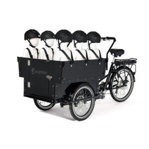 El-ladcykel til dagplejere, vuggestuer og børnehaver