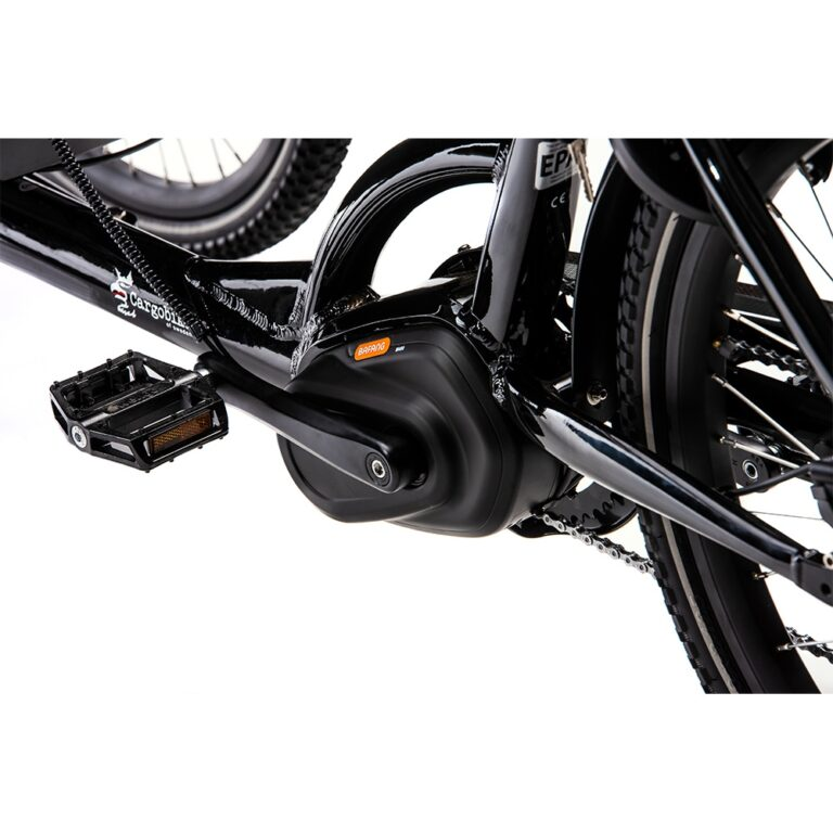 Bafang centermotor på ladcykel