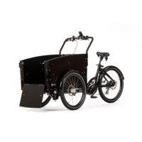 El-ladcykel hund Cargobike Dog