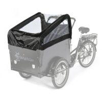 Bugatti-kaleche til Wildenburg og Cargobike of Sweden-el-ladcykler.