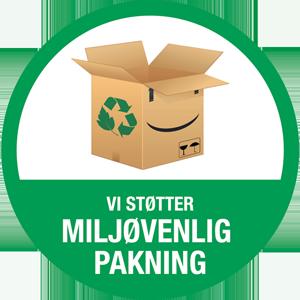 El-ladcykler.dk støtter op om Miljøvenlig Pakning