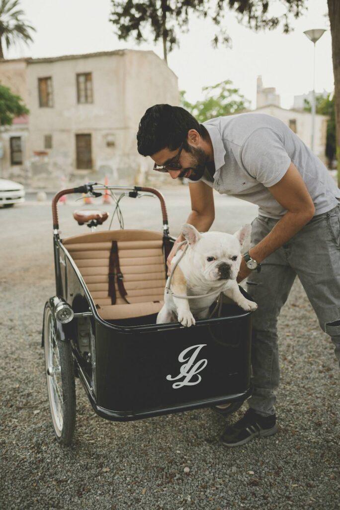 Johnny Loco med hund