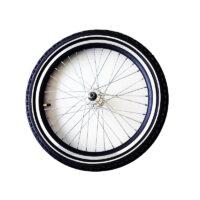 20 tommer forhjul til ladcykel